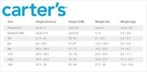 Carters Infant Shoe Size Chart Carters Baby Boy Shoe Size Chart Best Picture Of Chart
