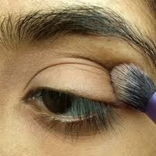basic eye makeup tutorial step 2