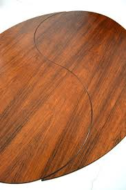ying yang table ole yang table in rosewood produced by son tableau yin yang unique ying yang table
