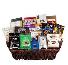 grand gourmet deluxe gift basket