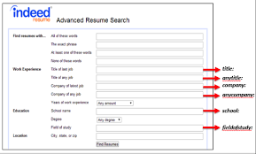 Indeed Resume Upload