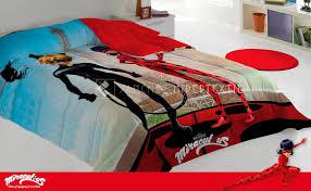 quilt miraculous ladybug bed linen