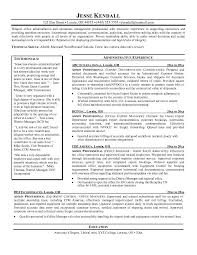 Remarkable Resume Templates Samples Example Admin Professional Resume Free  Sample