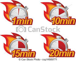 a 10 minute timer timer set 1 minute 10 minutes 15 and 20 minutes timers with fire