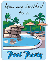 Free Pool Party Invitations Printable Pool Party Free Printable Invitations Templates Umbrellas