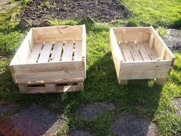 upcycled wooden pallet garden planters