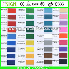 Vinyl Wrap Color Chart Pvc Self Adhesive Color Chart Vinyl Roll For Cutting Plotter Buy Color Chart Vinyl Roll Vinyl Roll For Cutting Plotter Adhesive Color Vinyl Product