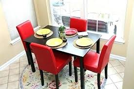 4 person dining table set 4 person dining table set 5 red leather 4 person table 4 person dining table set