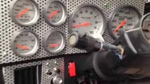 Truck Custom Dash - GEB Built - - YouTube