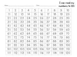 Hundreds Chart To 120 Hundreds Chart 1 120