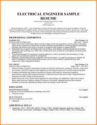 5 Engineering Executive Summary Example Intern Resume