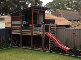 modern design cubby house