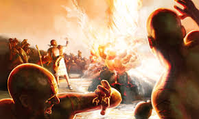 Image result for Elijah on Mt. Carmel against the Baal worshipers