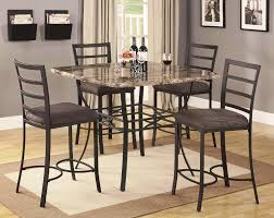 Kitchen Tables With Granite Tops Counter Height Kitchen Tables And Chairs Modern Counter Height