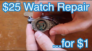 Tag Heuer Battery Chart How To Replace Tag Heuer F1 Battery For 1