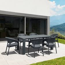 plastic extendable rectangular table