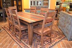 Rustic Wooden Kitchen Table Fascinating Rustic Kitchen Tables And Chairs Decoration Furniture