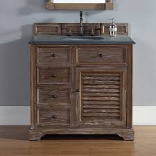 bathroom vanities 36 inch. 36 Inch Bathroom Vanity Driftwood Finish, Black Rustic Granite Top Vanities L