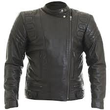 wolf euro leather jacket black