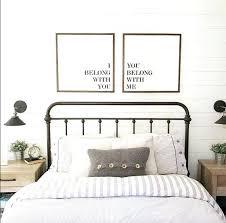 bedroom artwork as seen on sign set fixer upper modern farmhouse master bedroom art bedroom artwork bedroom artwork modern office art