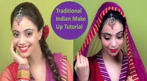 traditional indian make up tutorial hindi