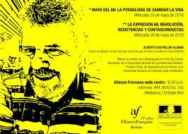 Conferencias en torno a Mayo del 68 | Alianza Francesa de Medellín