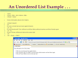 1 Web Site Design Development Lists And Links In Html. - Ppt Download