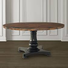 decorating beautiful 54 round pedestal dining table with leaf 8 compact inch copper top square 936x936