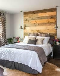 ingenious wooden headboard ideas for a trendy bedroom