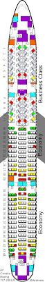 air canada boeing 777 200 seating plan