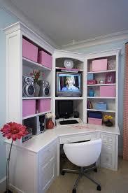 girls desk furniture. Teen Bedroom Desks : Awesome Corner White Desk For Teenage Designed  As TV Cabinet And Girls Desk Furniture N