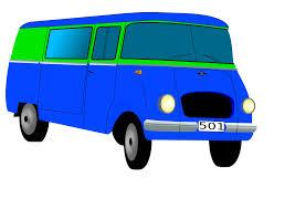 Bildergebnis für Bus blau Clipart
