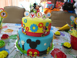 Mickey Mouse Clubhouse Sheet Birthday Cake Wedding Academy