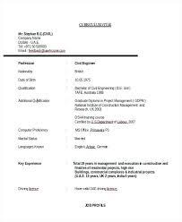 Civil Engineer Resume Samples. Civil Engineering Curriculum Vitae ...