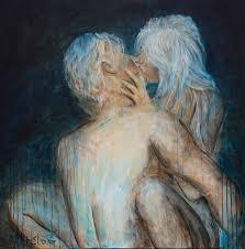Erotic art paintings couple