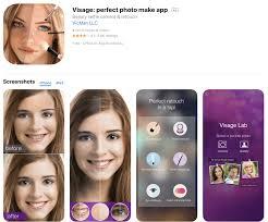 visage photo editing app