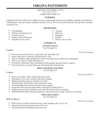 Cashier Resume Description Receptionist Cashier Resume Sample Restaurant Cashier Resume Samples 79