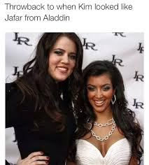 Kim Kardashian Quotes 89 Best Kim Kardashian's Original Facewhen She Used To Look Like Jafar