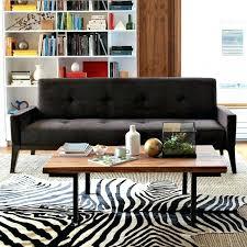 zebra cowhide rug west elm designs