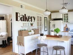 Shabby Chic Kitchen Furniture Shabby Chic Kitchen Decor Kitchen Color Ideas With Oak Cabinets