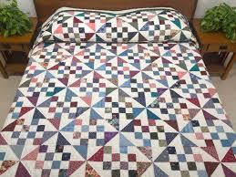 Pinwheel Chain Quilt -- superb specially made Amish Quilts from ... & Country Colors Pinwheel Chain Quilt Photo 1 ... Adamdwight.com
