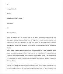 teacher resignation letter     download documents in pdf   wordschool teacher resignation letter