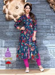 Kurta Top Designs Us 28 68 Indian Pakistan Clothing Tradition Cotton Kurta Bollywood Designer Stylish Tunic Digital Printed Top Dress Daily Party Wear In India