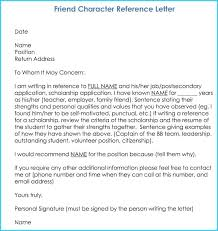 Recommendation Letter For Citizenship Character Reference