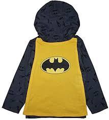 DC Comics Toddler/Little Boys Jersey Lined Windbreaker Jacket (4 ...