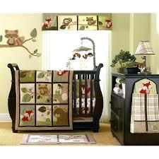 decoration forest animal baby bedding sets woodland creatures crib nursery with animals bedd