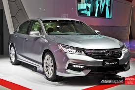 new car release 2016 malaysiaIndonesian International Motor Show 2016 Honda launches Accord