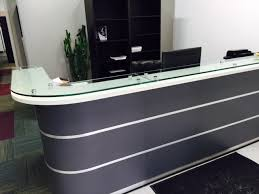 custom 6 9 reception desk