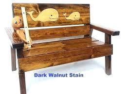 childrens wooden furniture wooden bench reclaimed wood furniture kids outdoor patio bench ocean beach or coastal