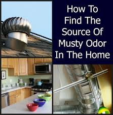 musty odor in a home